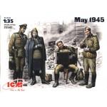 ICM - 35541 МАЙ 1945 Г (4 ФИГУРЫ) МАСШТАБ 1/35