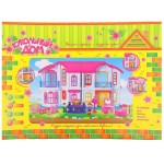 КУКОЛЬНЫЙ ДОМ Коттедж для кукол с мебелью муз свет на бат №SL-0545
