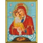 Вышивка бисером Богорица Почаевская (Кроше)
