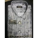 Рубашка мужская с коротким рукавом RETTEХ черн/бел