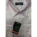 Рубашка с длинным рукавом Полоска яркая, розовая