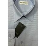 Рубашка с длинным рукавом Полоска. Голубая