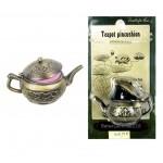 Металлический чайник-игольница