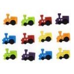 Декоративные пуговицы `Sew Cute Trains`