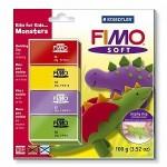 Набор для детей FIMO Soft «Монстры»