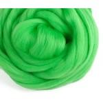 Шерсть для валяния (зеленая)