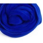 Шерсть для валяния (синяя)